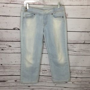 COH 29 light wash crop jeans